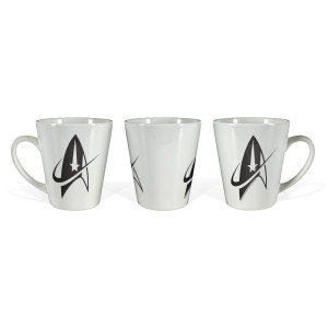 Star Trek Discovery Starfleet Delta Latte Mug