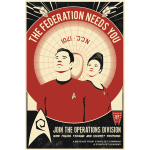 Star Trek Red Shirt Recruitment Poster [16x24]