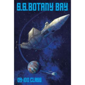 Star Trek Botany Bay Poster [16x24]