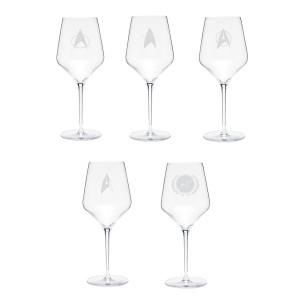 Star Trek Prism Wine Glass Bundle
