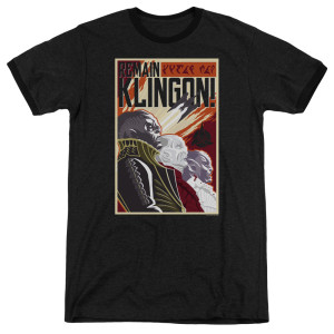 Remain Klingon Poster T-Shirt