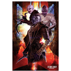 "Star Trek Discovery Klingon Giclee Print [24""x36""]"