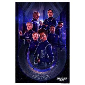 "Star Trek Discovery Starfleet Giclee Print [24""x36""]"