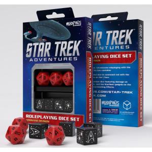 Star Trek Command Red Dice Set