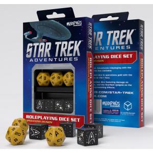 Star Trek Operations Gold Dice Set