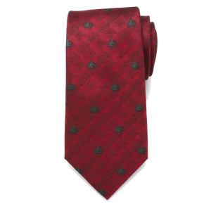 Star Trek The Next Generation Red Delta Men's Tie