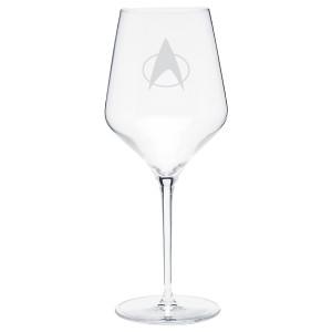 Star Trek The Next Generation Delta Prism Wine Glass