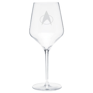 Star Trek The Next Generation Delta Prism Wine Glass