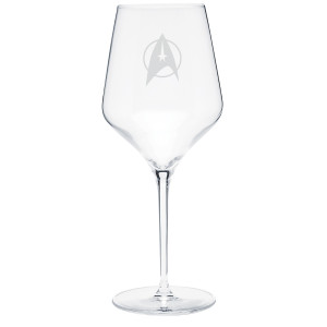 Star Trek The Original Series Delta Prism Wine Glass