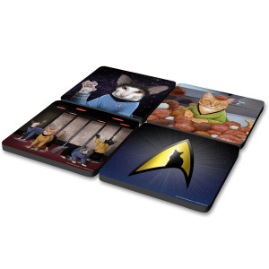 Star Trek The Original Series Cat Coasters (Set of 4)