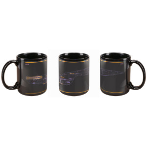 Star Trek The Next Generation LCARS Mug
