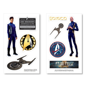 Star Trek Discovery Sticker Set