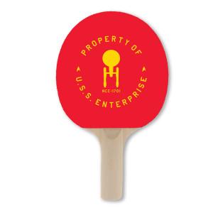 Star Trek The Original Series NC 1701 Ping Pong Paddle
