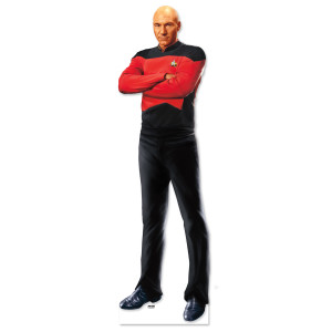 Star Trek The Next Generation Picard Standee