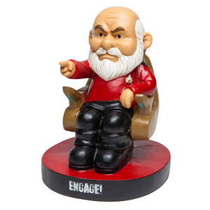 Star Trek Picard Gnome Statue
