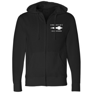 Star Trek Discovery Property Of I.S.S. Zip Up Hoodie