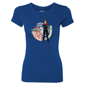 Star Trek Voyager Weird Is Part Of The Job Women's T-Shirt