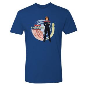 Star Trek Voyager Weird Is Part Of The Job T-Shirt