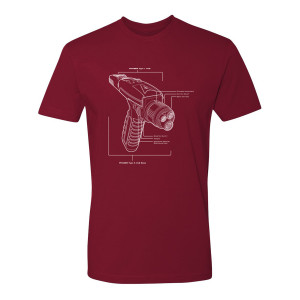 Star Trek Discovery Phaser T-Shirt
