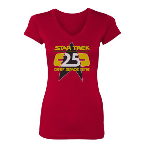 Star Trek Deep Space Nine 25th Anniversary Women's T-Shirt