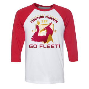 Star Trek Starfleet Academy Fighting Phoenix Raglan