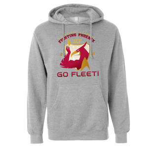 Star Trek Starfleet Academy Fighting Phoenix Pullover Hoodie