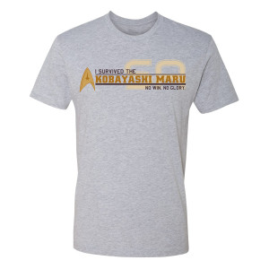 Star Trek Starfleet Academy I Survived T-Shirt