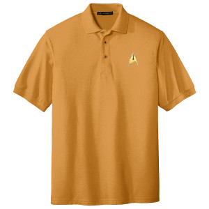 Star Trek The Original Series Enterprise Command Polo