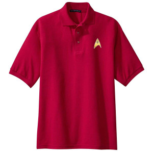 Star Trek The Original Series Enterprise Operations Polo