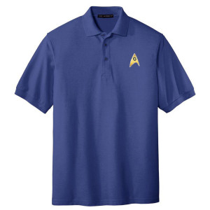 Star Trek The Original Series Enterprise Science Polo