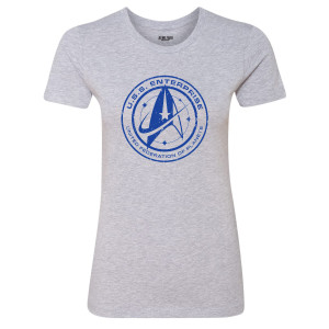 Star Trek Discovery U.S.S. Enterprise Women's T-Shirt