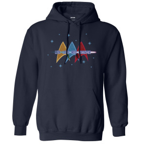 Star Trek The Original Series Live Long Pullover Hoodie