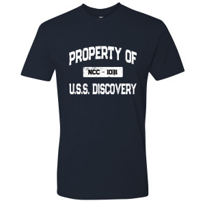 Star Trek Discovery Property Of U.S.S. Discovery T-Shirt