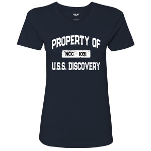 Star Trek Discovery Property Of U.S.S. Discovery Women's T-Shirt