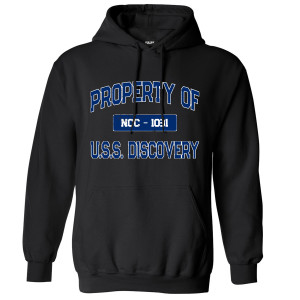 Star Trek Discovery Property Of U.S.S. Discovery Pullover Hoodie