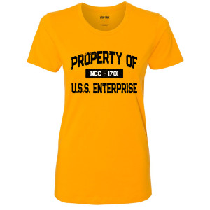 Star Trek Property of the NCC-1701 Women's T-Shirt