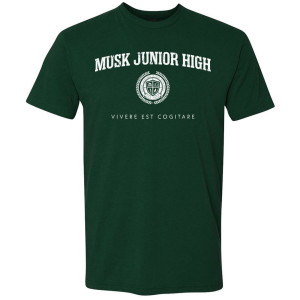 Star Trek Discovery Musk Junior High T-Shirt