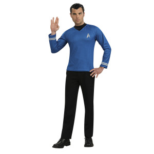 Star Trek Movie Spock Blue Shirt Adult Costume