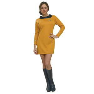 Star Trek Women's Deluxe Commander Uniform Costume