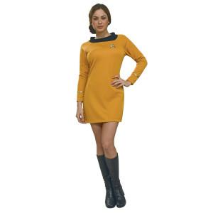 Star Trek Women's Deluxe Commander Uniform Costume
