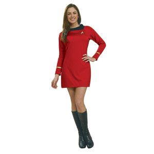 Star Trek Women's Deluxe Uhura Red Dress Costume