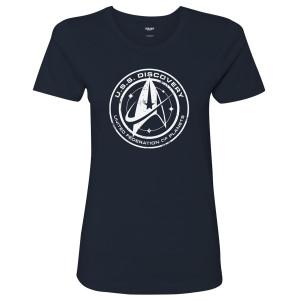Star Trek Discovery U.S.S. Emblem Women's T-Shirt