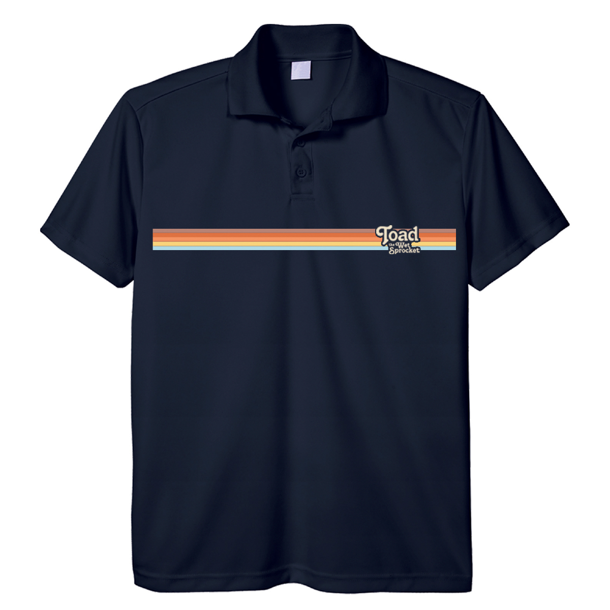Rainbow Logo Polo