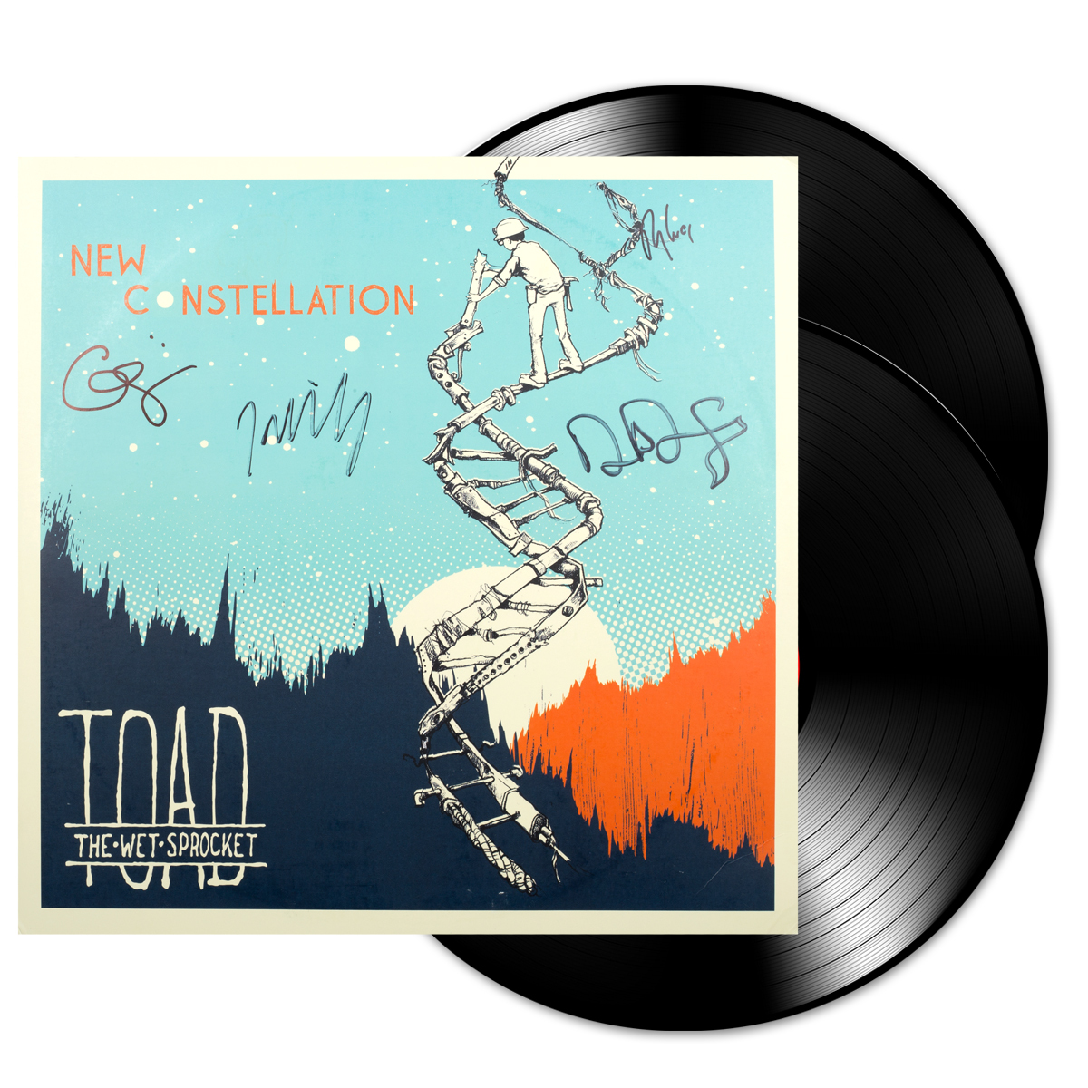 Signed New Constellation LP