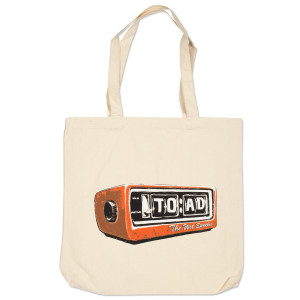Clock Radio Tote Bag