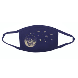 Birds Mask – Navy