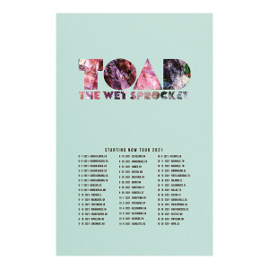 Limited Edition 2021 Tour Poster