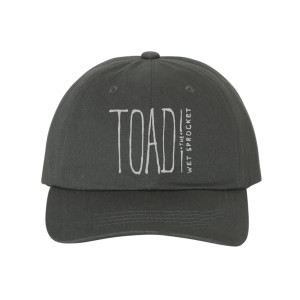 Embroidered Logo Dad Cap