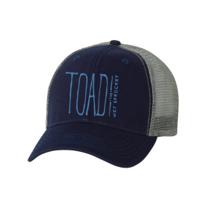 Embroidered Logo Trucker Hat