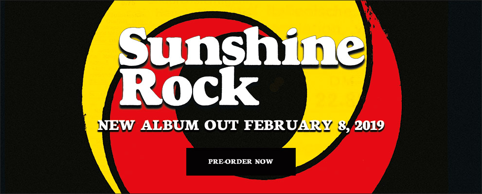 Pre-Order Sunshine Rock Today